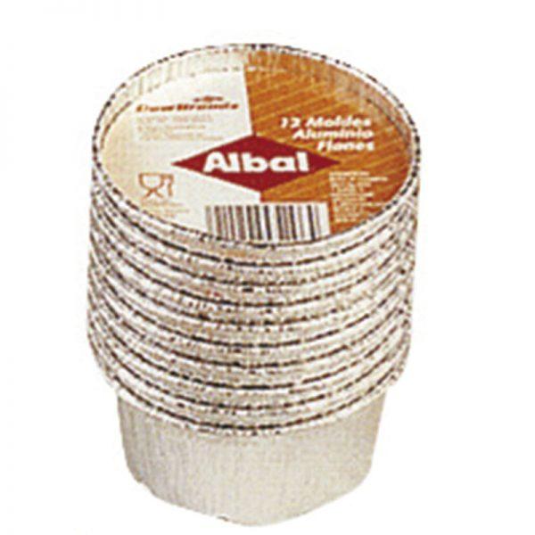 Moldes de aluminio para flan ALBAL