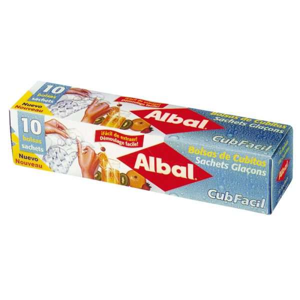 Bolsa cubitos hielo ALBAL