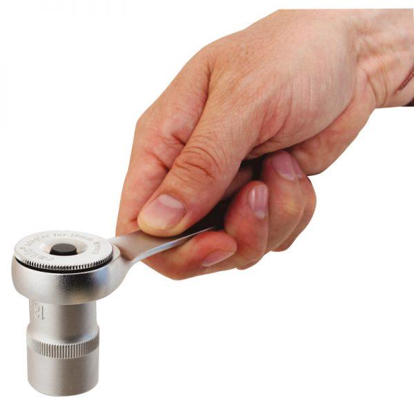 """Adaptador de llave fija de 10 mm para vasos de 1/4"""" RATIO"""