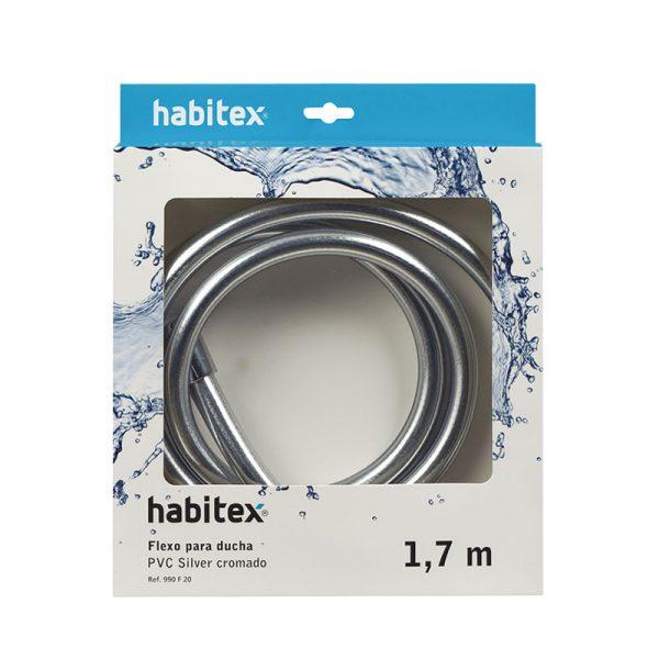 Flexo ducha HABITEX PVC 1,70 m
